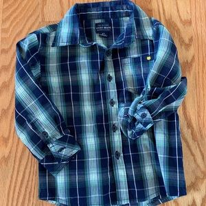 🔴3/15 LUCKY brand plaid shirt
